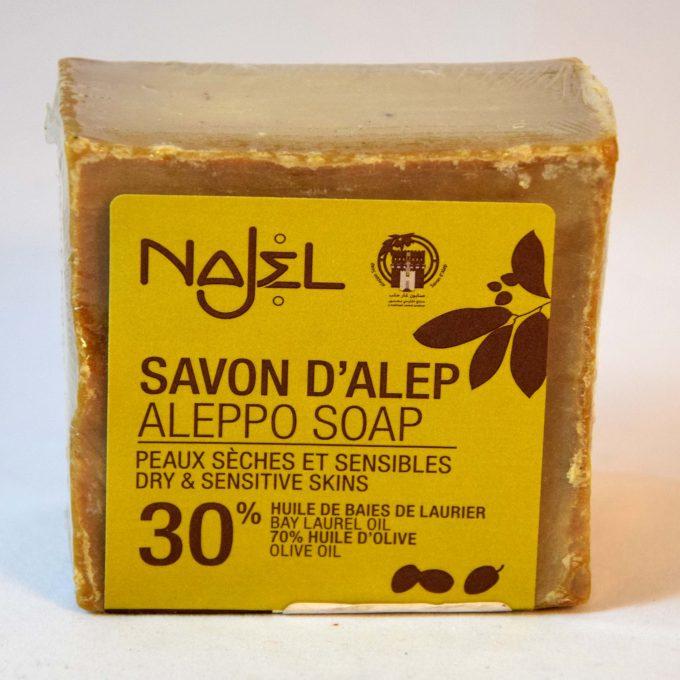 sapone siriano di aleppo con 30 % olio di bacche di alloro ottimo per dermatiti eczemi e psoriasi