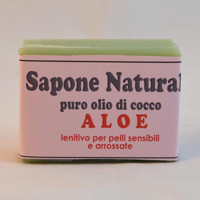 sapone con aloe lenitivo