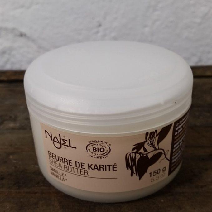 burro di karitè alla vaniglia biologico