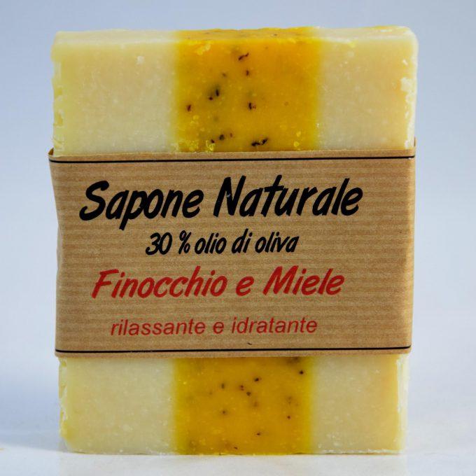 sapone extravergine di oliva profumato finocchio e miele