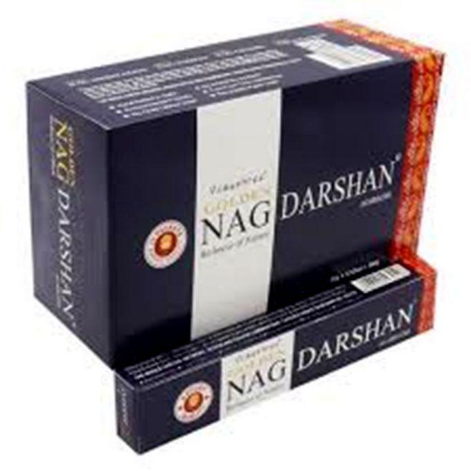 Incenso Golden Darshan. Questi sono incensi speciali ayurvedici