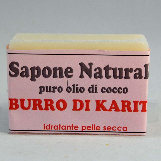 sapone con burro di karitè pelle secca