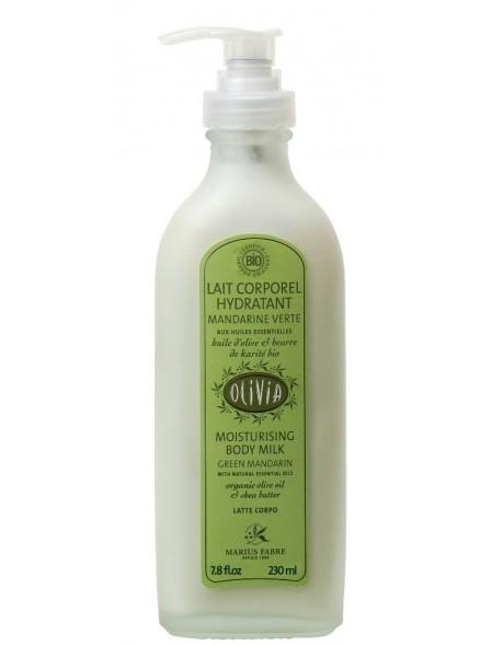 latte idratante per il corpoi - bio - all' olio di oliva e burro di karite