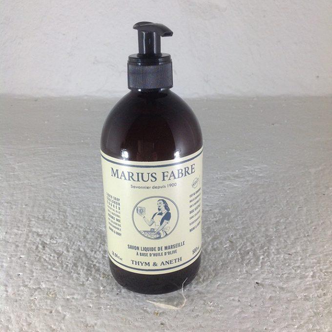 sapone liquido di marsiglia