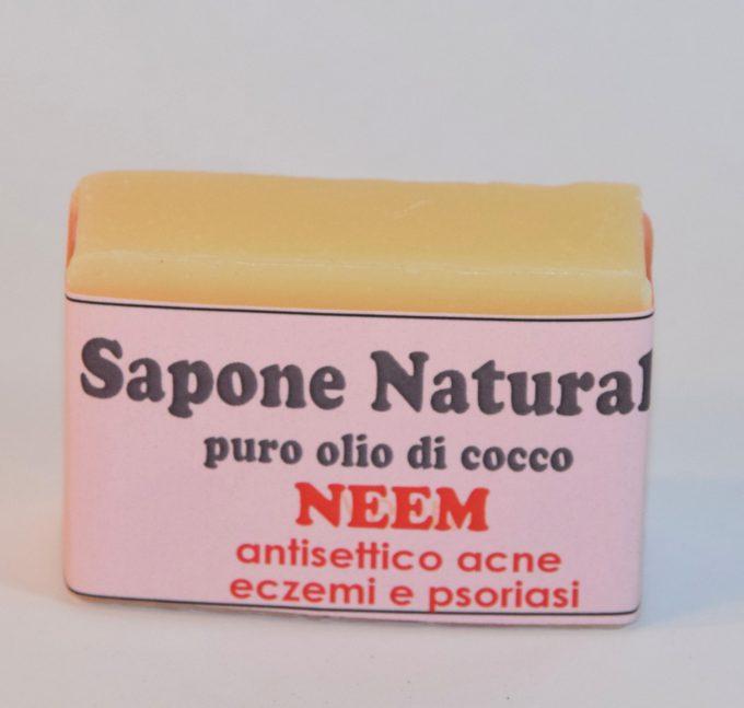 sapone al neem antibatterico