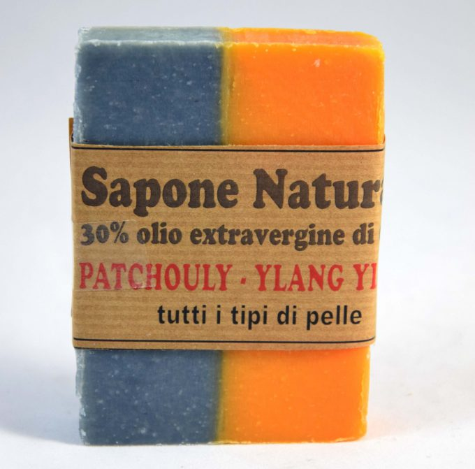 sapone patchouli e ylang ylang olio extravergine di oliva