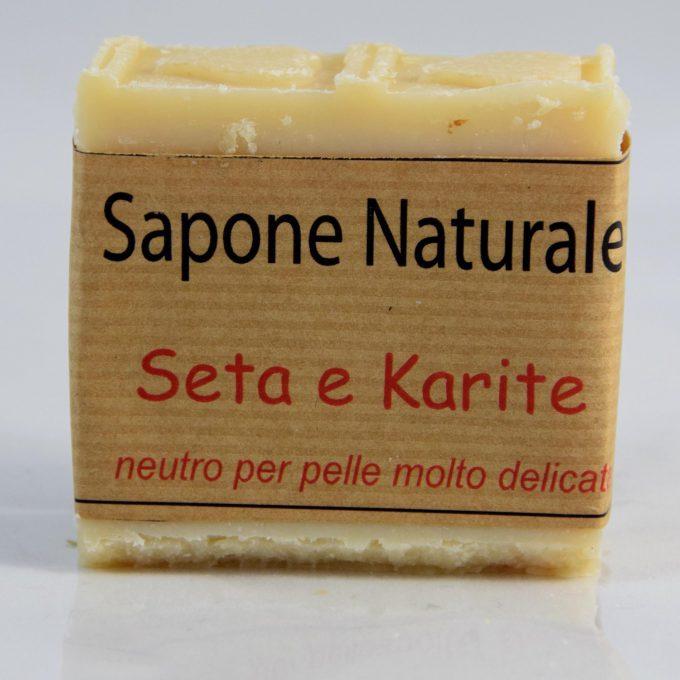 Il sapone neutro Seta Karitè