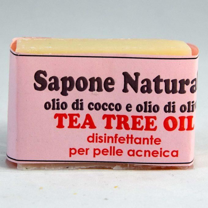 sapone al tea tree antisettico