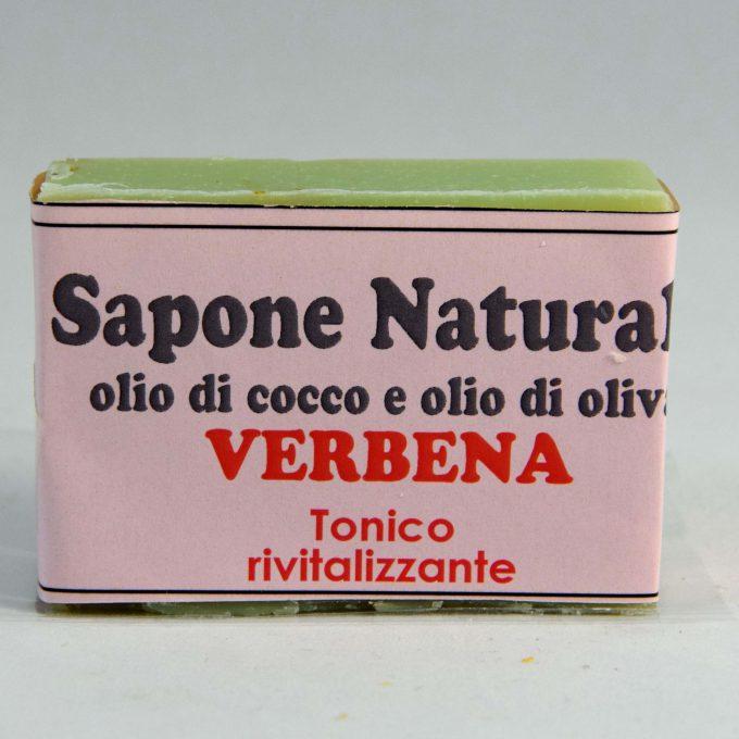 Sapone olio di cocco e olio di oliva alla verbena